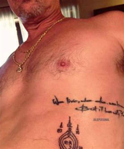 brad pitt tattoo brad pitt squash divorce rumors with
