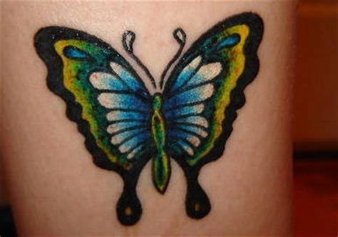tattoo butterfly green butterfly tattoos and designs page 422