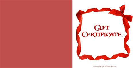 Printable Gift Certificate Templates Gift Certificate Template With Logo