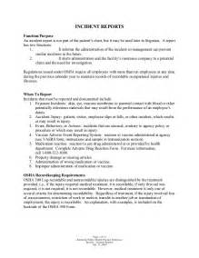 Or Incident Report Writing Tips by Incident Reports