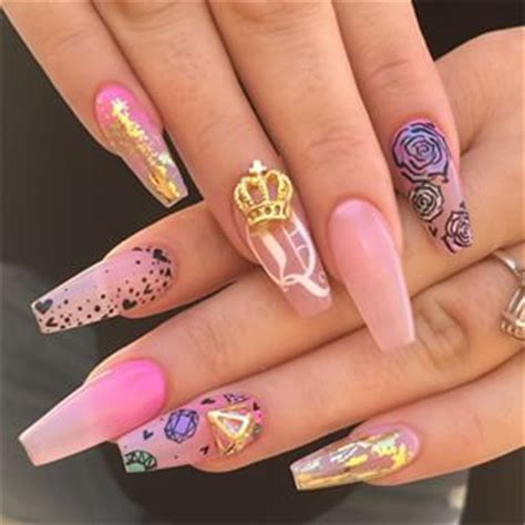 cute nail designs with a crown best 25 dope nails ideas on pinterest dope nail designs
