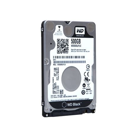 disk interno 500gb wd hd interno 500gb 2 5 sata 32mb 7200rpm wd black discos