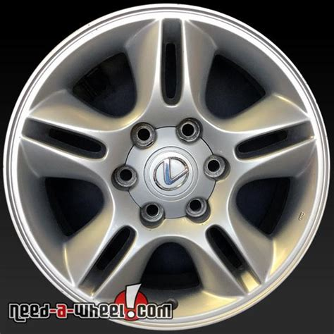 lexus stock rims 17 quot lexus gx470 oem wheels 2003 2009 silver stock rims 74167
