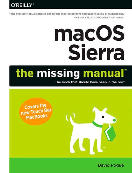 macos the missing manual 2016 macos