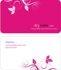 business cards free design templates dryicons business card template vector graphic leaves