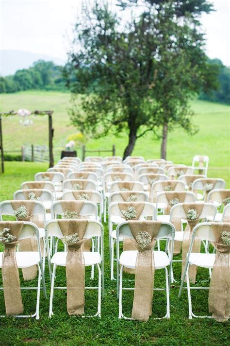 how to make metal folding chairs look nice   Google Search