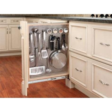 kitchen cabinet filler 3 quot base cabinet filler organizer kitchen ideas pinterest