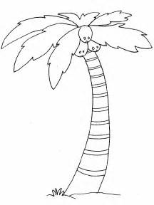printable coconut tree template free printable tree coloring pages for