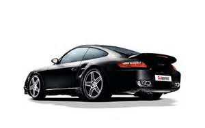 Porsche 997 Exhaust Akrapovic Porsche 997 Turbo Titanium Exhaust
