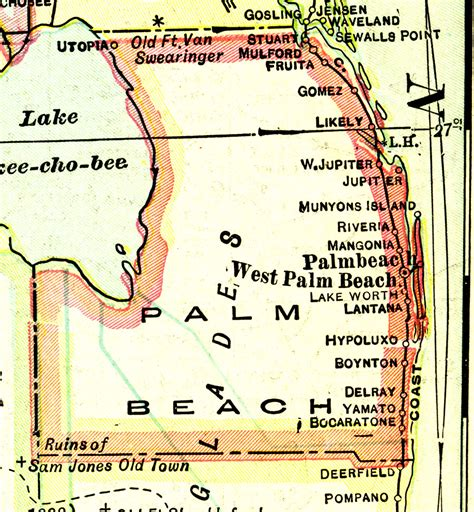 Records Palm County Florida Palm County 1916