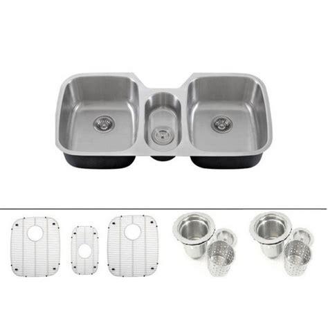 43 inch kitchen sink 43 inch 16 stainless steel undermount bowl