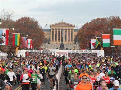 Daily Comes To Philly by Where Do All Those Marathoners Come From Philly