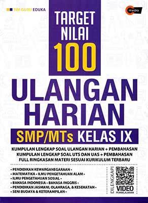 Rekor Nilai 100 Ulangan Harian Sd Mi Kelas 6 Semua Mapel Sc target nilai 100 ulangan harian smp mts kelas ix cmedia