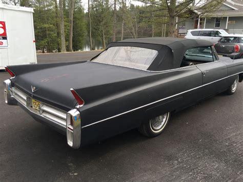 1963 cadillac 2 door convertible for sale