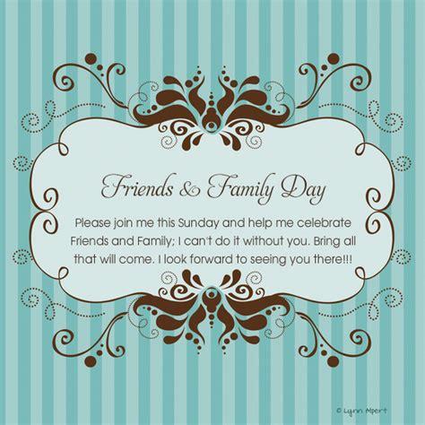 Family And Friends Day Invitation Car Interior Design