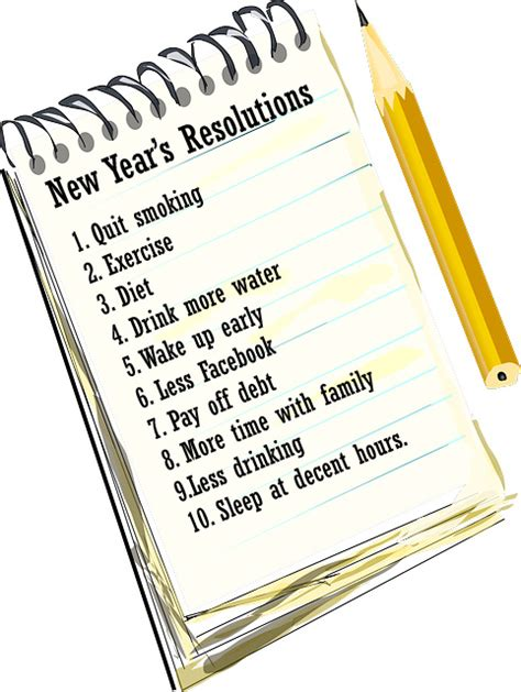 new years resolutions 365greetings com