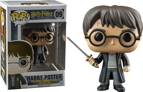 lucius 2 bobbleheads harry potter sword of gryffindor pop vinyl figure