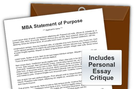Goals For Mba Program by Statement Of Purpose Essay For Mba Mba Career Goals