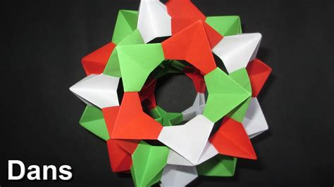 How To Make An Origami Spiky - how to make an origami spiky icosidodecahedron complete