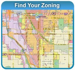 use the denver zoning map to look up the zone district for