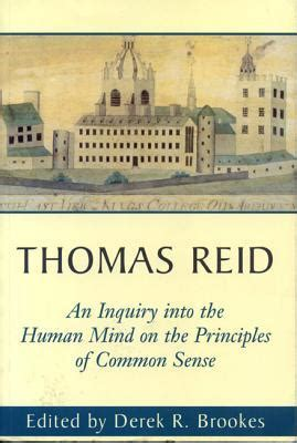 into the mind books an inquiry into the human mind on the principles of