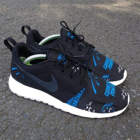 nike panthers shoes custom nike roshe one carolina panthers by customsxcario