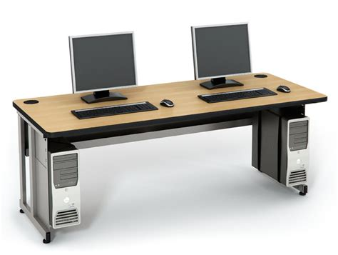 Computer Comforts basic table computer lab tables classroom furniture
