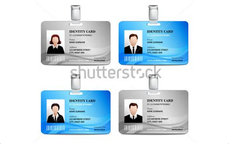 id template psd 16 id card psd templates designs design trends