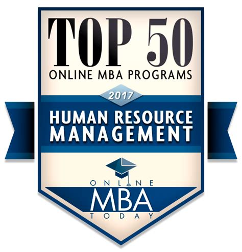 Mba In Human Resource Management In New by Guide To Mbas In Human Resources Mba Today