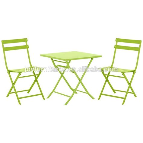 Cheap Patio Table And Chairs Sets with Folding Table And Chair Indoor Outdoor Cheap Steel Bistro Set Buy Folding Table And Chair