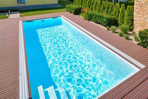 gfk wannen vorteile schwimmbecken mit folienauskleidung