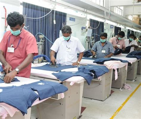 finishing section in garment industry pressing important finishing process for garments