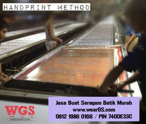 Kain Batik Batik Handprint 3 Pusat Pembuatan Batik Terbaik Wear Gs