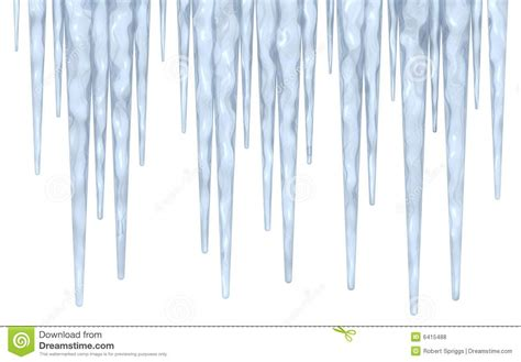 Icicle Clipart Free icicle border stock illustration image of icicle