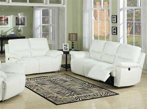 White Leather Living Room Furniture Peenmedia Com White Leather Sofa Living Room Ideas