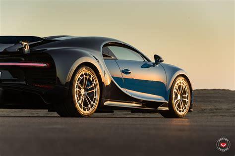bugatti chiron wheels first bugatti chiron gets vossen forged wheels autoevolution