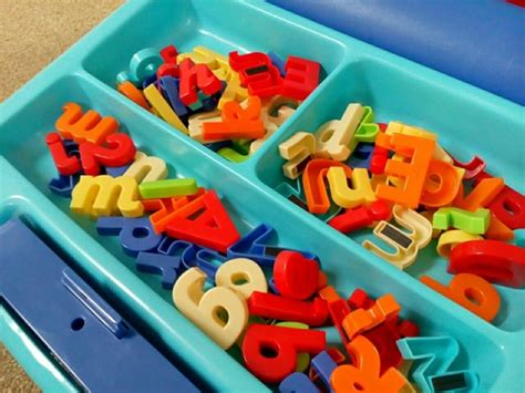 Early Learning Centre Magnetic Letters