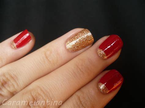 imagenes de uñas en negro con dorado de 180 u 209 as rojas decoradas u 209 as decoradas nail art