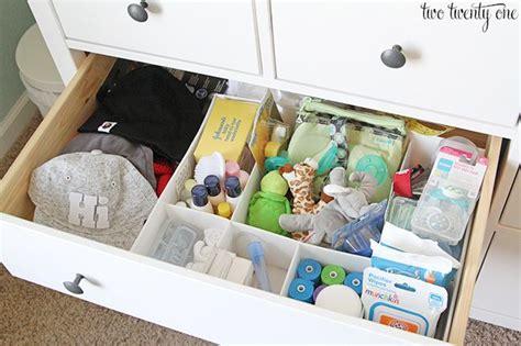 Organize Baby Dresser by Best 25 Nursery Dresser Organization Ideas On