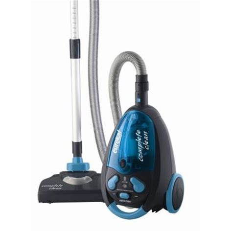 home depot canister lights eureka completeclean bagless canister vacuum cleaner 955a