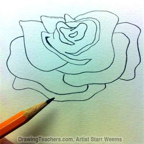 how to draw doodle roses how to draw roses