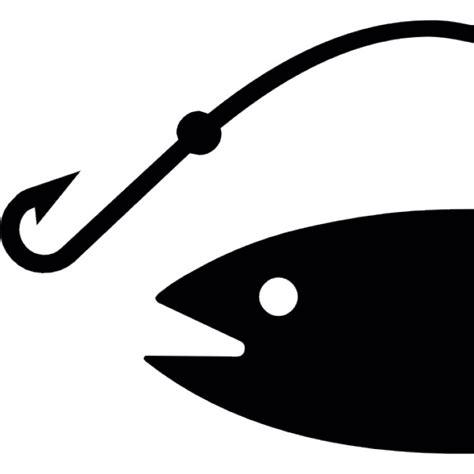 pesce testa di testa di pesce e un gancio da caccia scaricare icone gratis