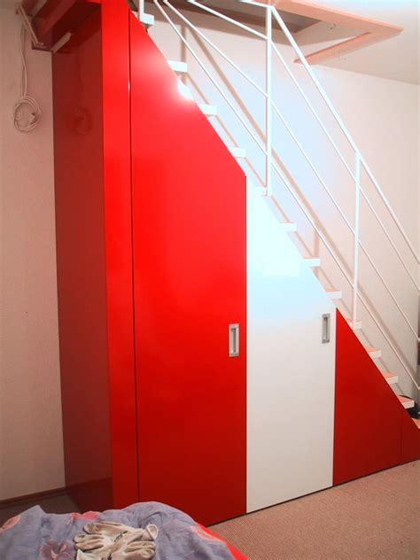 scale armadio armadio sotto scala realizzato su misura idfdesign