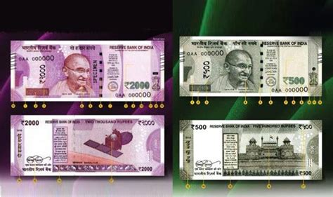 3 ways to identify new rs 500 and here s how to identify new rs 500 and rs 2000 notes