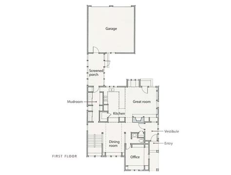 sarah susanka floor plans a neighborly plan for an infill lot by architect author