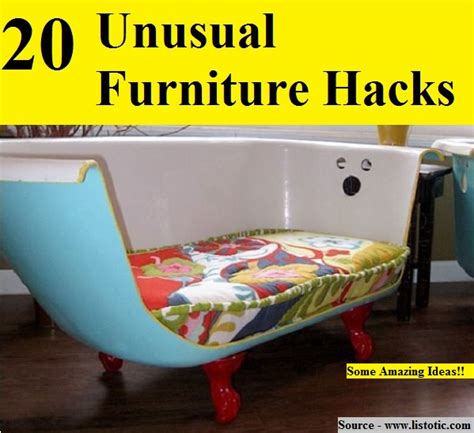 furniture hacks 20 unusual furniture hacks home and life tips