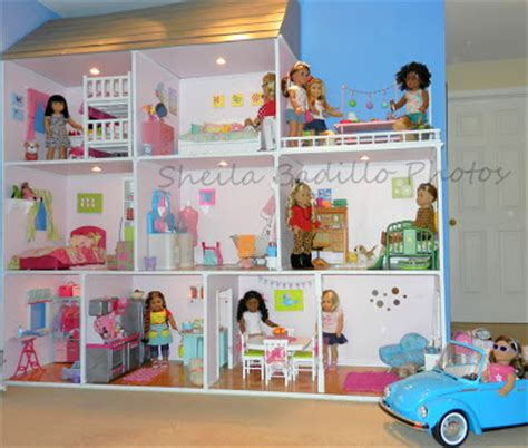 the biggest american girl doll house in the world american girl doll house plans etsy 187 woodworktips