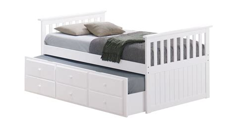 cool teen beds cool trundle bed for teens in white wood decofurnish