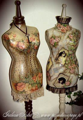 Decoupage Mannequin - 35 best images about decoupage mannequins on