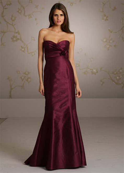 wine colored dress wine colored bridesmaid dresses